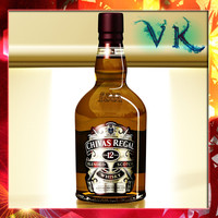 Photorealistic Chivas Regal 12 years Bottle